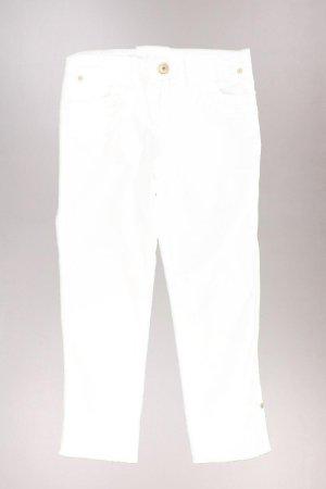Benetton 7/8 Hose Größe ital. 38 weiß aus Baumwolle