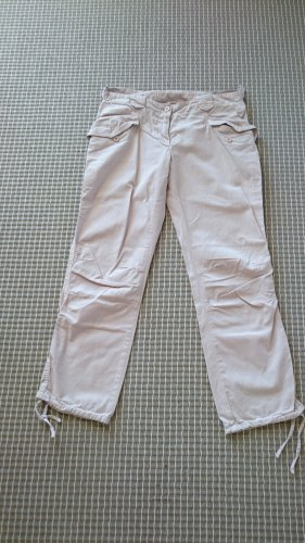 Benetton 7/8 Length Trousers pink cotton