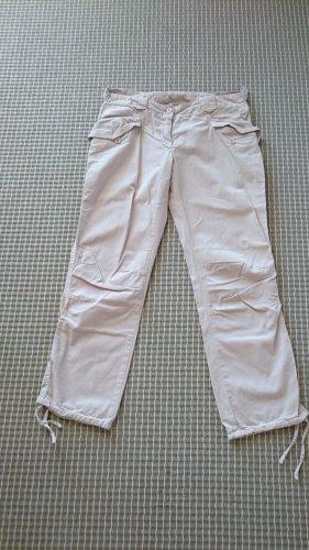 Benetton Spodnie 7/8 różany Bawełna