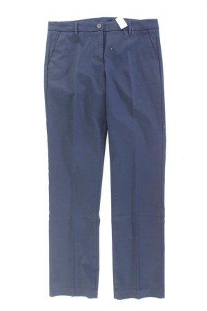 Benetton Suit Trouser blue-neon blue-dark blue-azure cotton
