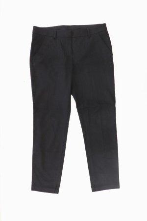 Benetton Pantalon de costume noir polyester