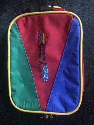 Benetton Bauchtasche bunt Vintage