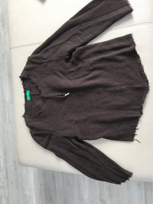 United Colors of Benetton Knitted Blazer brown
