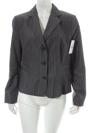 Benetton Blazer grau-creme Nadelstreifen Elegant