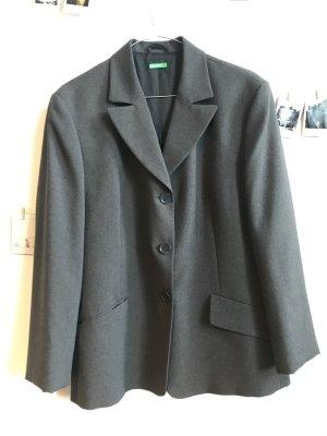 Benetton Klassischer Blazer gris-gris oscuro Poliéster