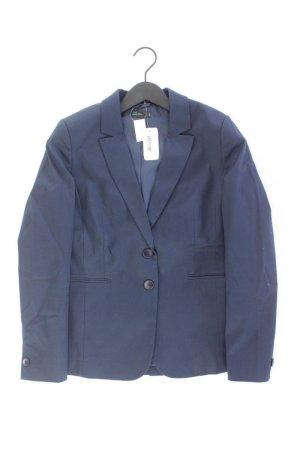 Benetton Blazer bleu-bleu fluo-bleu foncé-bleu azur coton