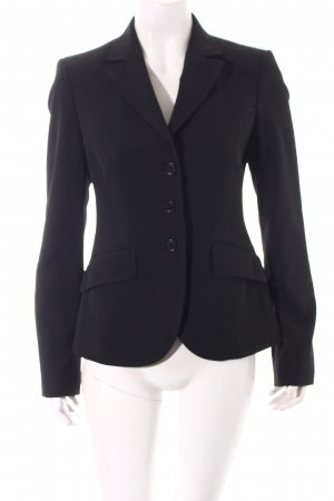 Benetton Blazer schwarz Business-Look