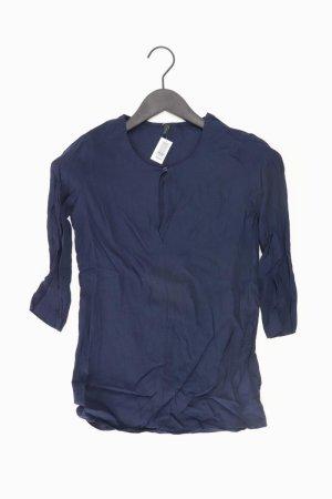 Benetton Bluse blau Größe XS
