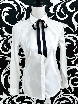 BENETTON Bluse Hemd weiß XS