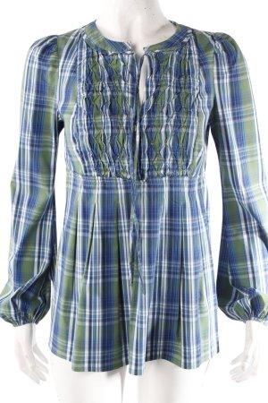 Benetton Bluse im Karo-Muster