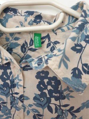 Benetton Colletto camicia multicolore Cotone