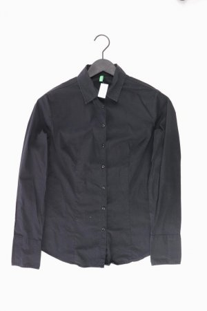 Benetton Bluse schwarz Größe 40