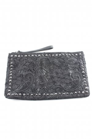 Benetton Clutch schwarz