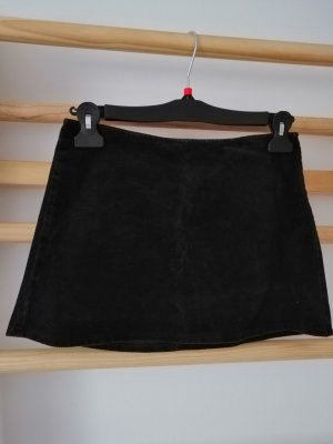 United Colors of Benetton Miniskirt black cotton