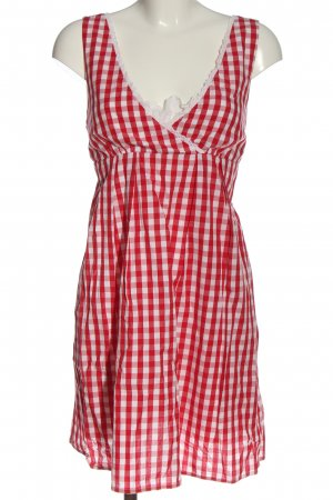 Benetton Dirndl red-white allover print casual look