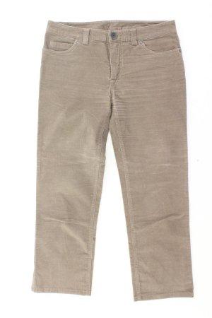 Benetton Five-Pocket-Hose Größe 38 braun aus Baumwolle