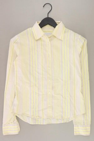 Benetton gestreifte Bluse gelb Größe S