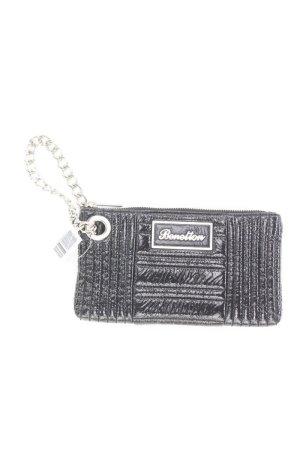 Benetton Handtasche schwarz