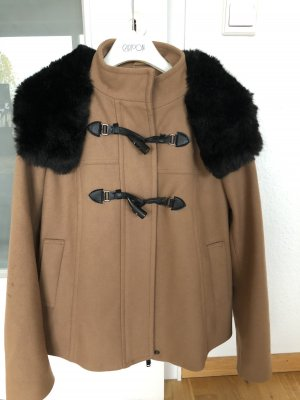 Benetton Cape camel