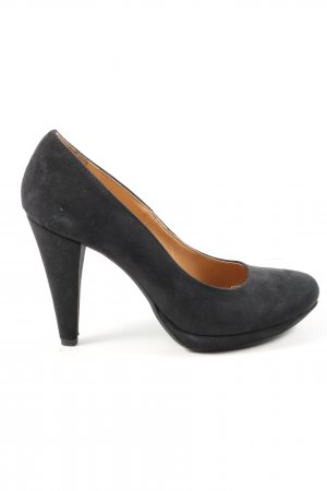 Benetton High Heels schwarz Casual-Look