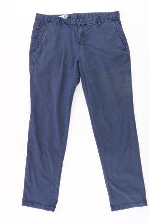 Benetton Spodnie niebieski-niebieski neonowy-ciemnoniebieski-błękitny Bawełna