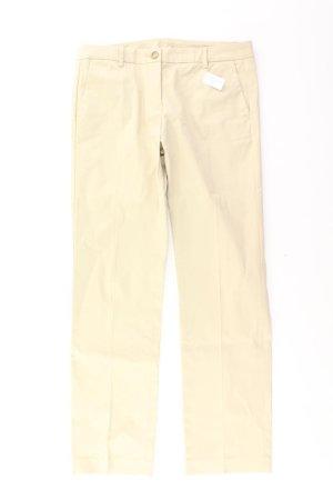 Benetton Hose Größe 40 creme aus Baumwolle