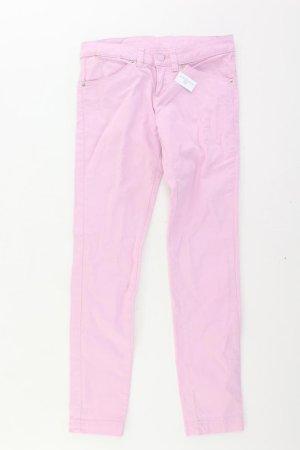 Benetton Pantalon vieux rose-rosé-rose clair-rose coton