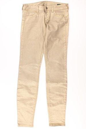 Benetton Pantalon doré coton