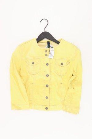 Benetton Jacket yellow-neon yellow-lime yellow-dark yellow cotton