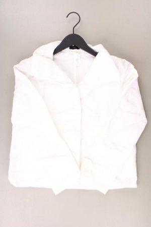 Benetton Jacke Größe S weiß aus Polyester