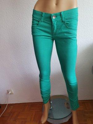 Benetton Jeans, 28W, Jeggins grün