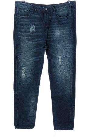 Benetton Jeans Boyfriendjeans blau Casual-Look