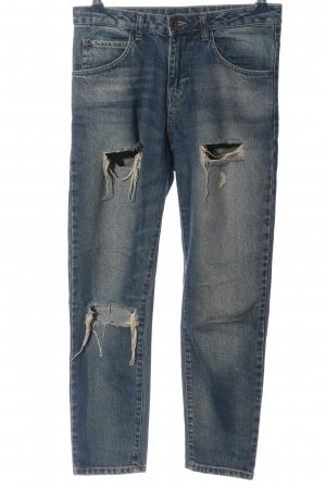 Benetton Jeans Boyfriend Jeans blue casual look