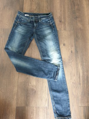 Benetton Jeans Slim Jeans white-steel blue