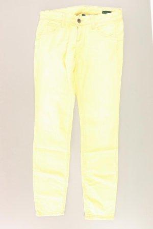 Benetton Jeans yellow-neon yellow-lime yellow-dark yellow cotton