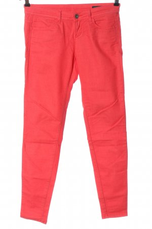 Benetton Jeans Low-Rise Trousers pink casual look