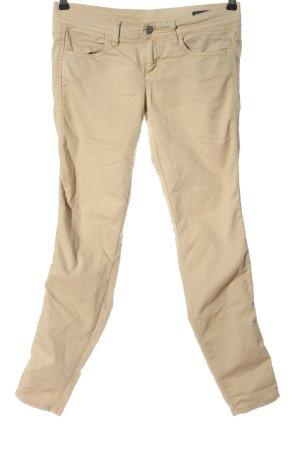 Benetton Jeans Jeans taille basse crème style décontracté