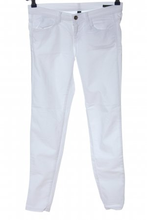 Benetton Jeans Low Rise Jeans white casual look