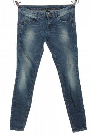 Benetton Jeans Low Rise Jeans blue casual look