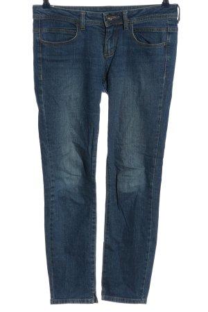 Benetton Jeans Jeans taille basse bleu style décontracté