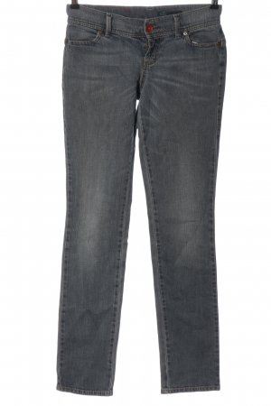 Benetton Jeans Low Rise Jeans light grey casual look