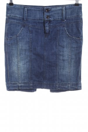 Benetton Jeans Denim Skirt blue casual look