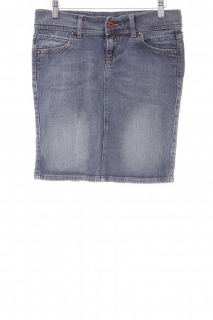 Benetton Jeans Denim Skirt slate-gray casual look