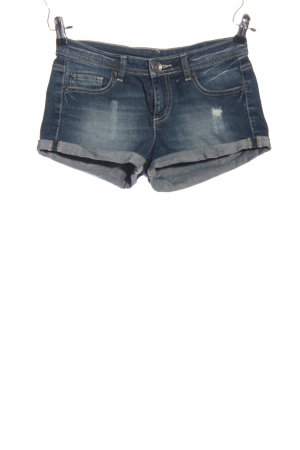 Benetton Jeans Denim Shorts blue street-fashion look