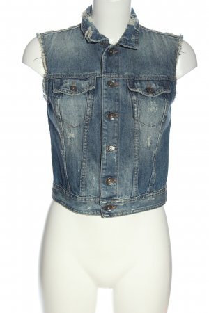 Benetton Jeans Smanicato jeans blu stile casual
