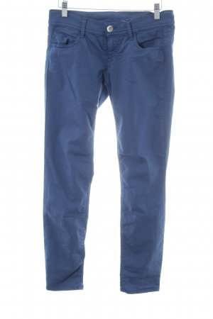 Benetton Jeans Jeggings blau Casual-Look