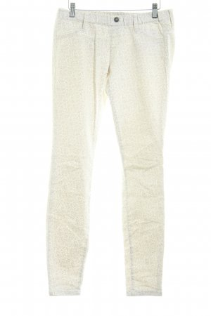 Benetton Jeans Jeggings Blumenmuster Casual-Look