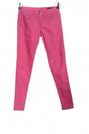Benetton Jeans Drainpipe Trousers pink casual look