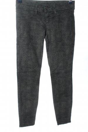 Benetton Jeans Stretch Trousers light grey flecked casual look