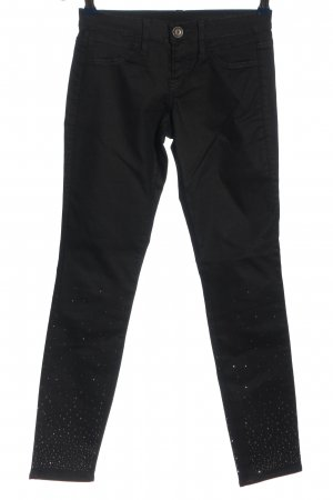 Benetton Jeans Drainpipe Trousers black casual look